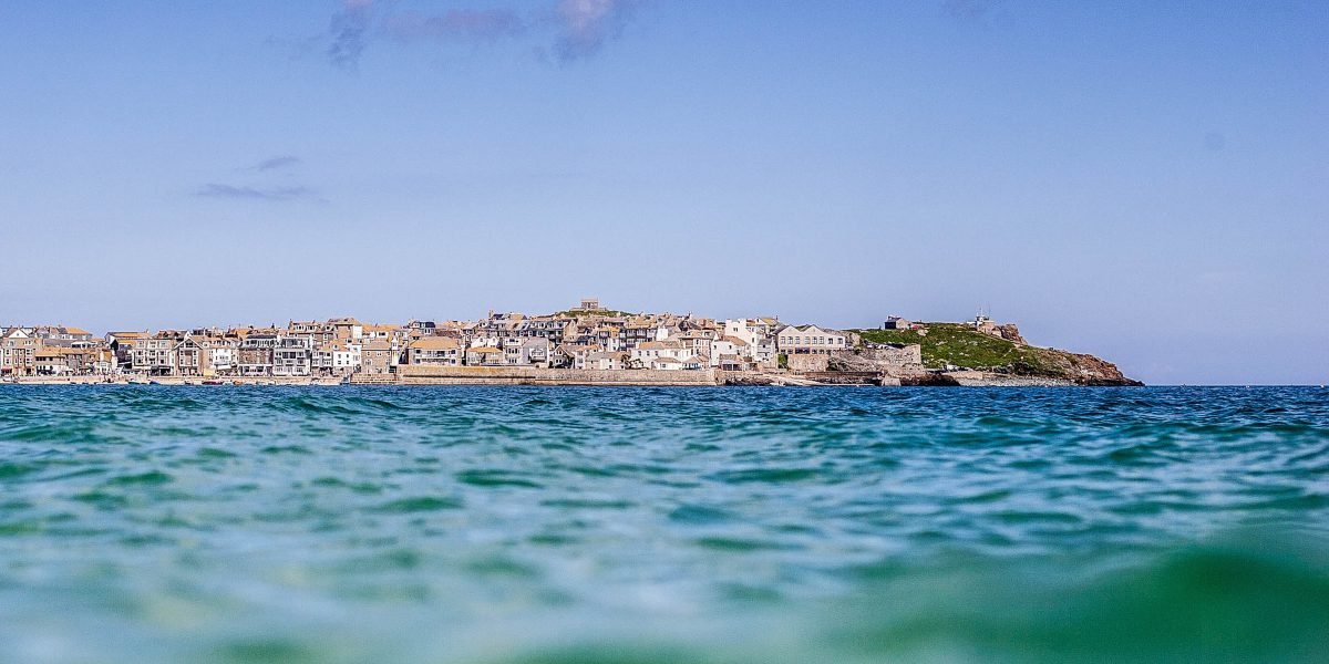 St Ives From The Sea